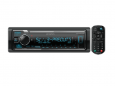 Kenwood KMM-BT356 смарт-ресивер 1 DIN, USB, без CD , Bluetooth , с процессором, 3 пары RCA выходов
