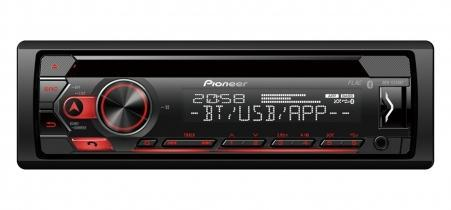 Pioneer DEH-S320BT смарт-ресивер 1 DIN, USB, без CD , Bluetooth , 2 пары RCA выходов